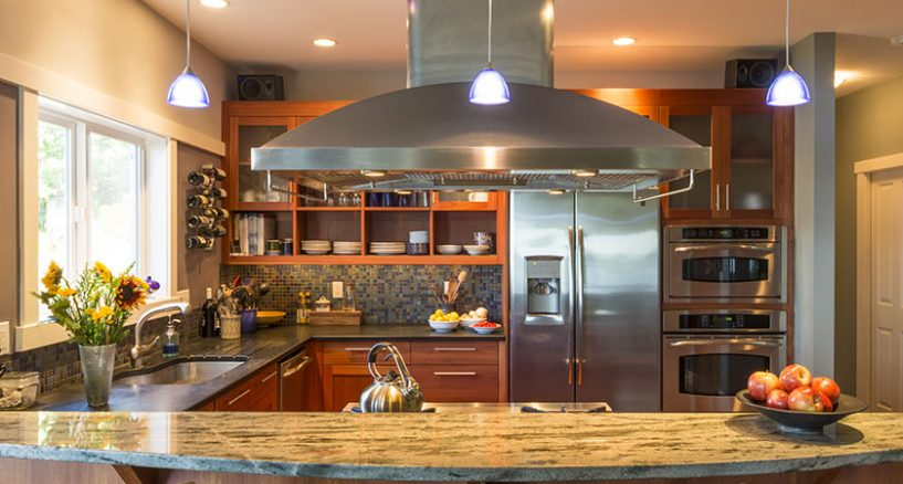 put a fresh shine on your old kitchen countertop - Old Kitchen